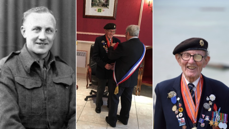 Veteran Harry Bailey – Master of the collection bucket dies aged 99
