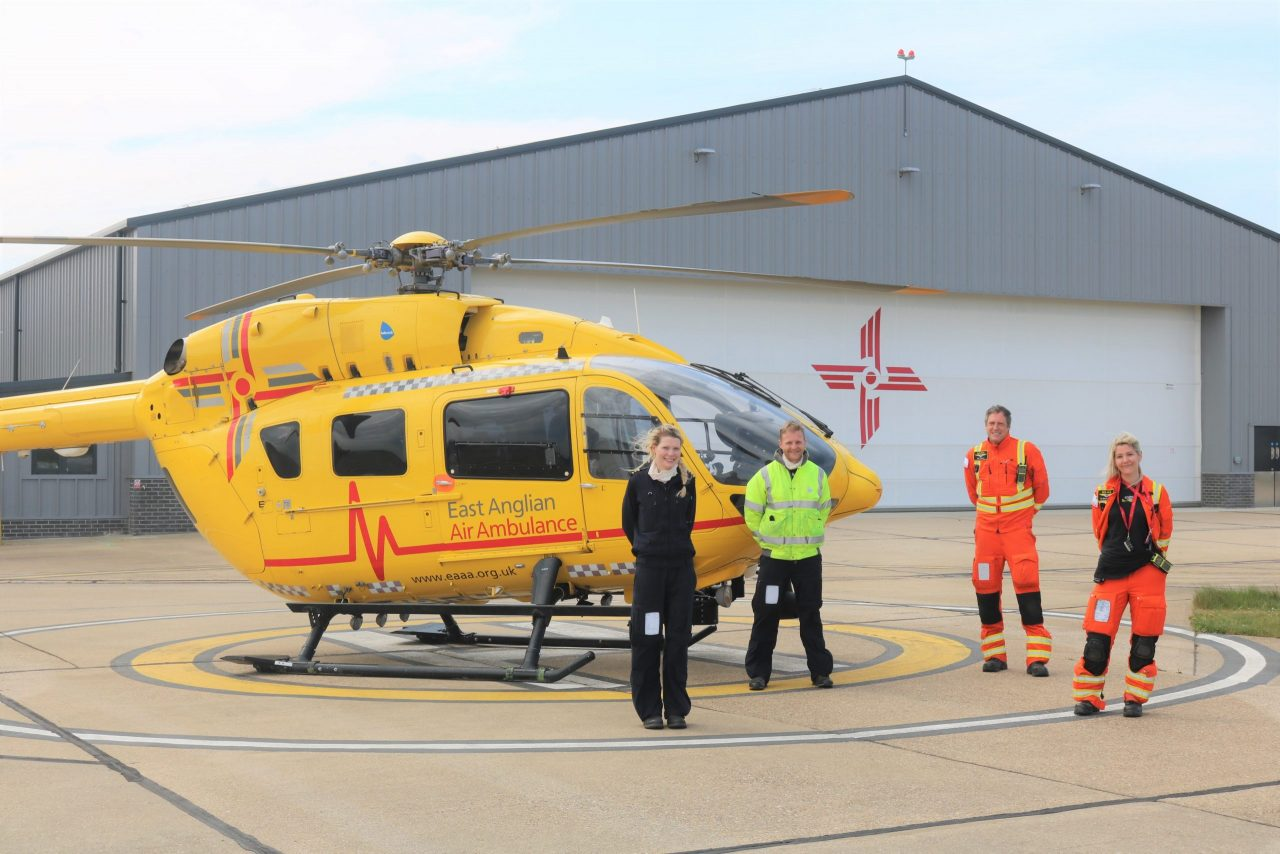 EAAA crew move into new Norwich headquarters as they prepare to fly 24/7
