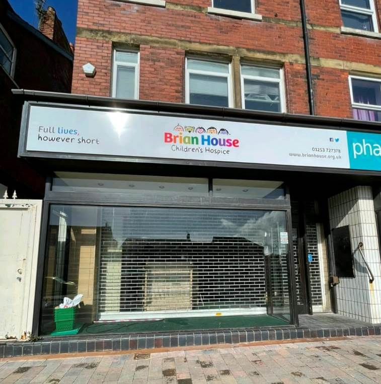 Trinity Hospice to open two new charity shops on Fylde coast