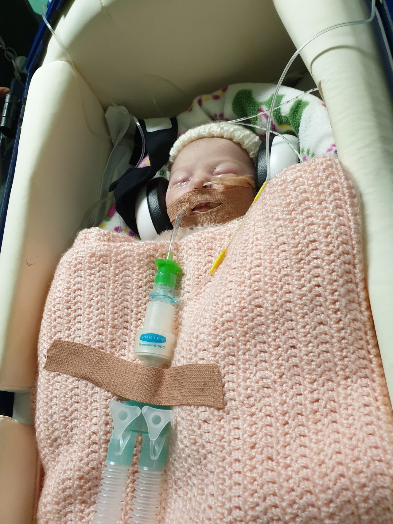 Hasting toddler's air transfer to London hospital featured in national charity campaign