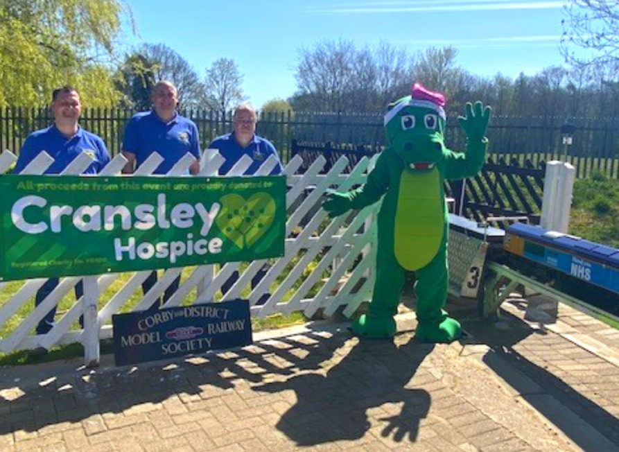 Cransley Hospice - Captain Tom 100 Challenge event with CDMRS