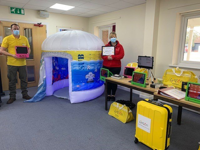 Charity donates life-changing technology for life-limited children