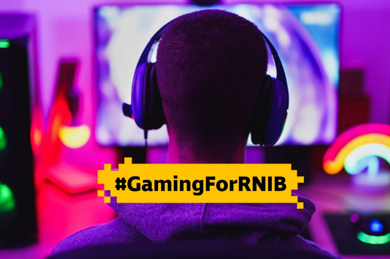 RNIB encourages gamers to fundraise