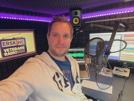 Erskine launches 24-hour radio station for Veterans