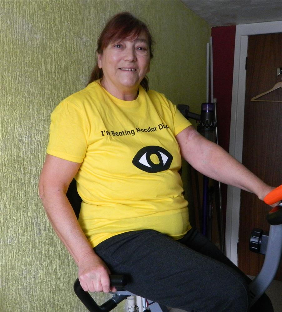 Sight loss sufferer takes on globe-trotting challenge to beat incurable disease