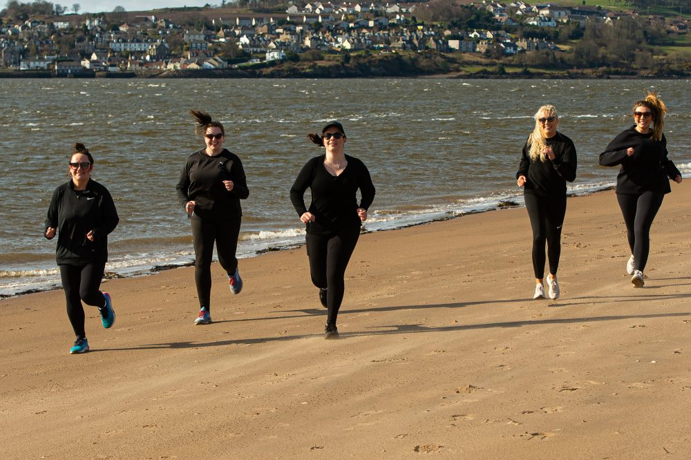 Star-studded 'Jog for Jugs' campaign launches nationwide to raise awareness for breast cancer