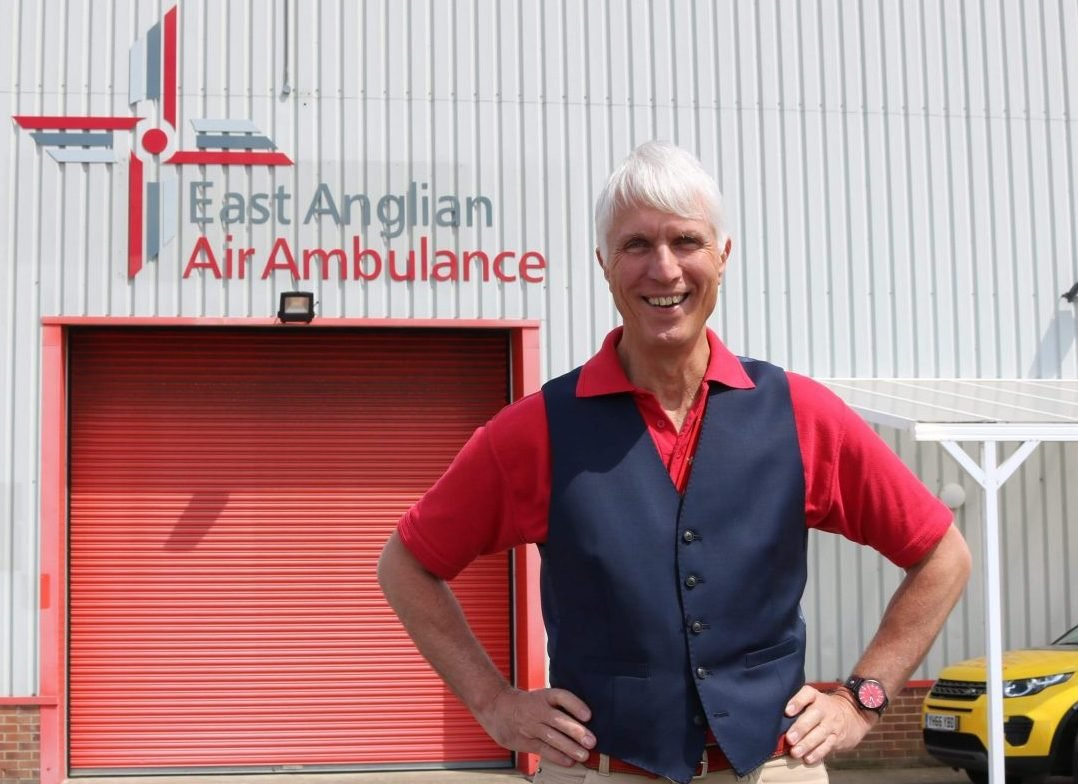 Air ambulance CEO and founder retires