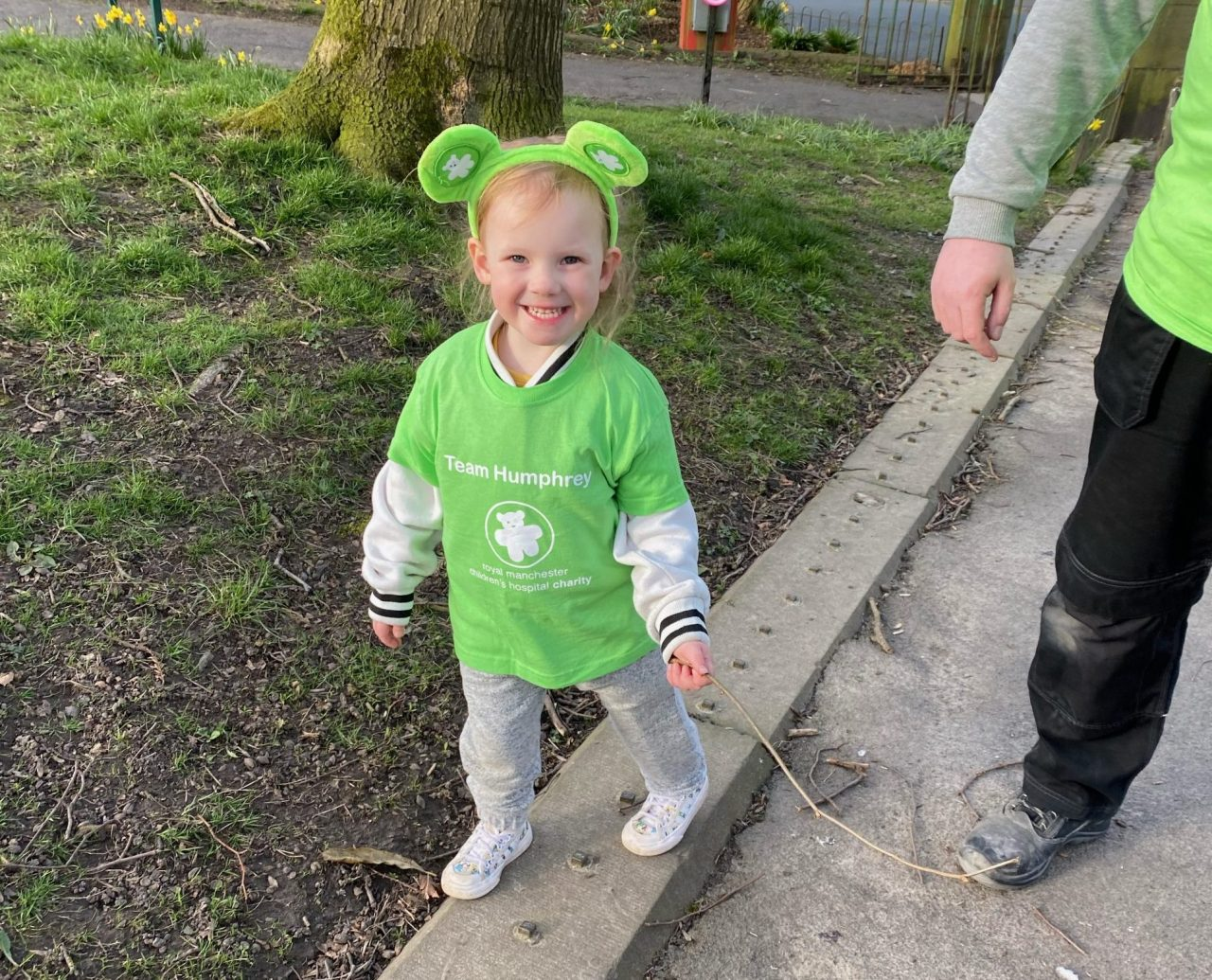 Small but mighty, Quinn's 30 Mile Challenge