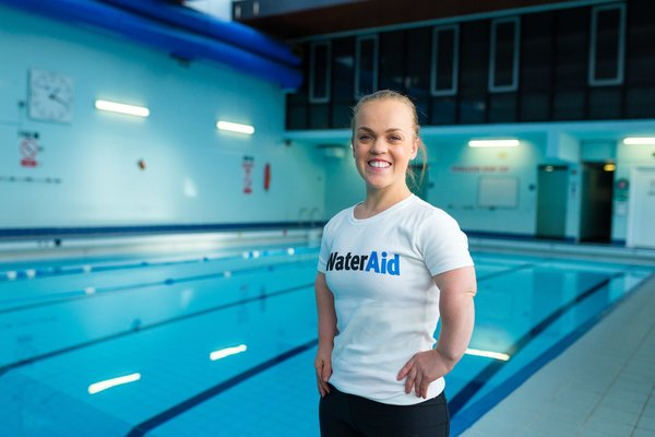 Ellie Simmonds invites swimmers to take the plunge with a challenge for WaterAid