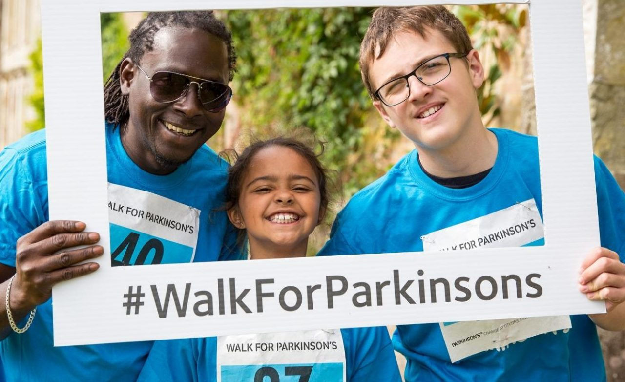 Step out with Walk for Parkinson's