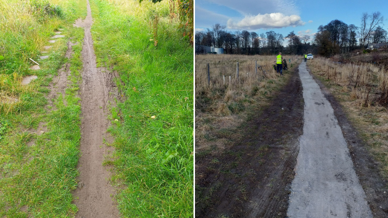 Dundee path brought back to life thanks to grant funding