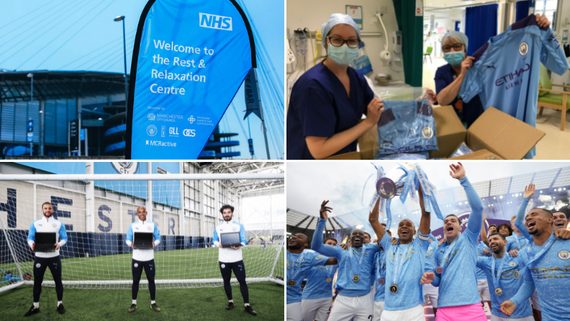 How Manchester City supported its community during a record-breaking season