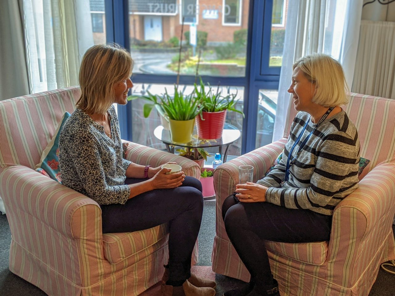 Wessex Cancer Trust welcomes back clients for face-to-face support