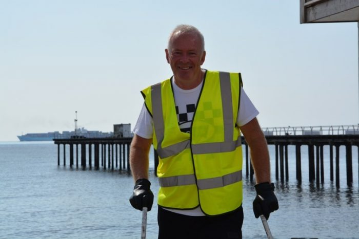 Man determined to prove MS is no barrier as he prepares for three-day charity challenge