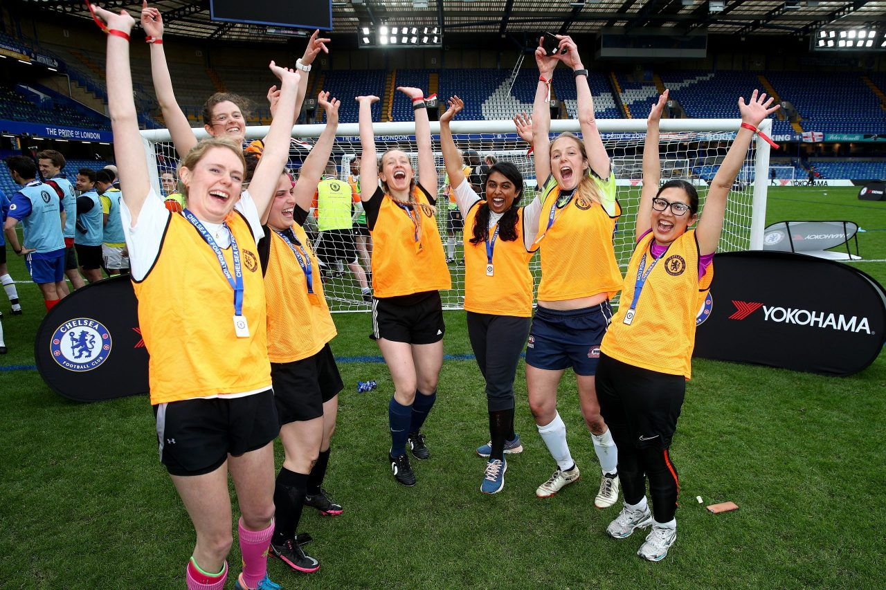 Chelsea Foundation hosts NHS football tournament to say thank you to key workers