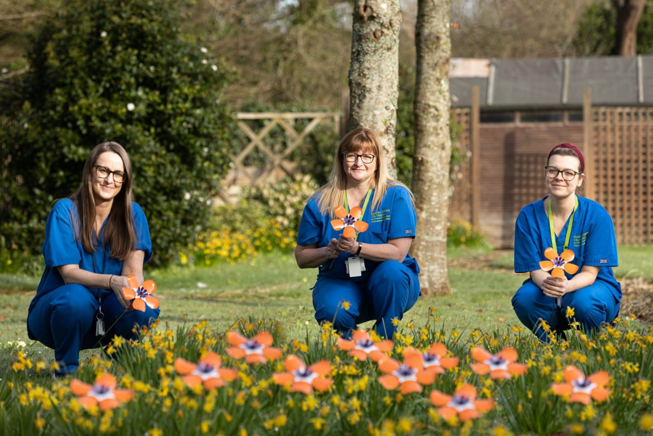 City Hospice launch Forever Flowers campaign