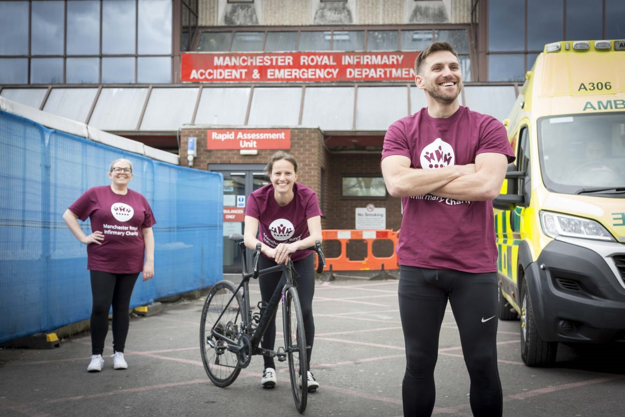Hospital workers take on team challenge