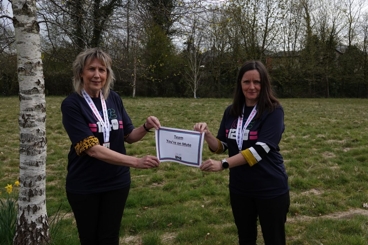 Sight loss charities connect through wellbeing challenge
