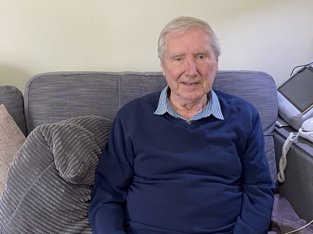Sheffield grandad thanks older persons charity for loneliness busting lockdown support