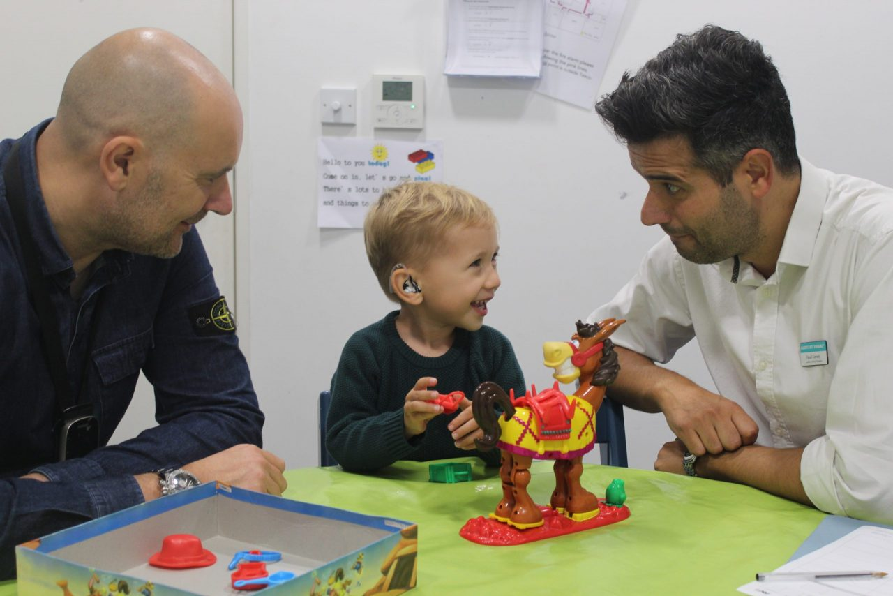 New Trustees sought for charity supporting deaf babies and children to listen and speak