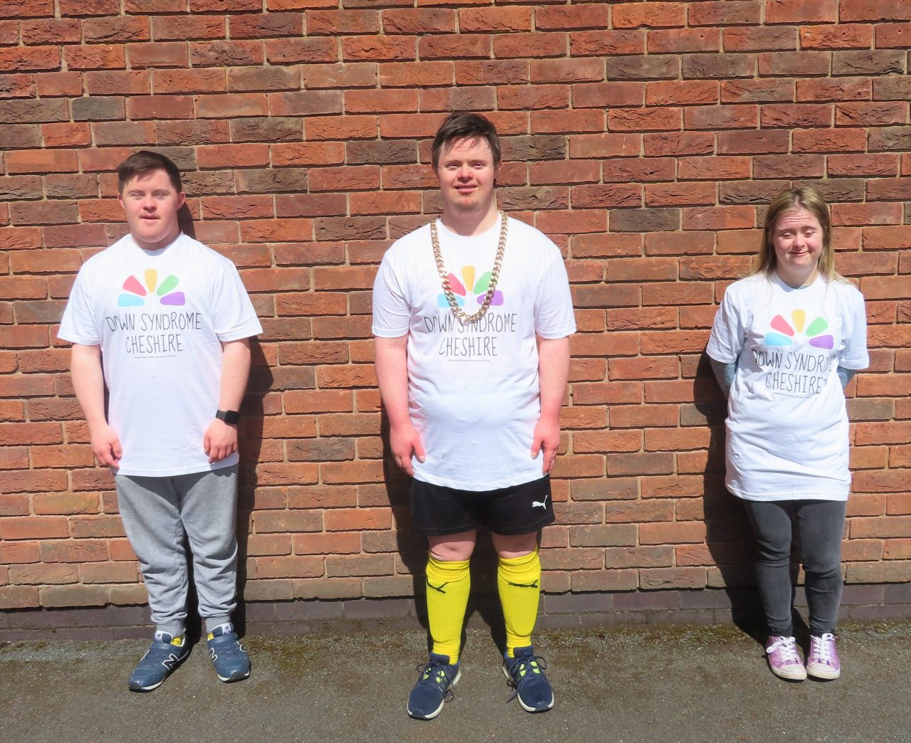 Talented team with Down's Syndrome create new look for charity