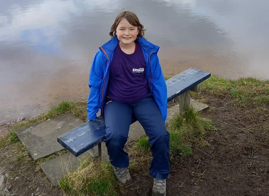 Lily's fundraising challenge for her 10th birthday