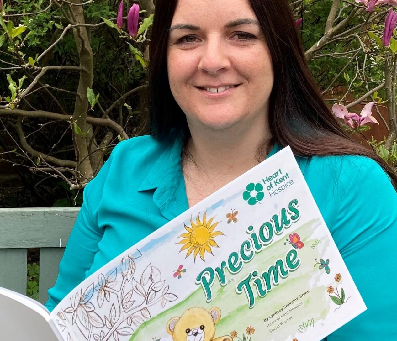 Hospice Social Worker marks Dying Matters Awareness Week with debut book