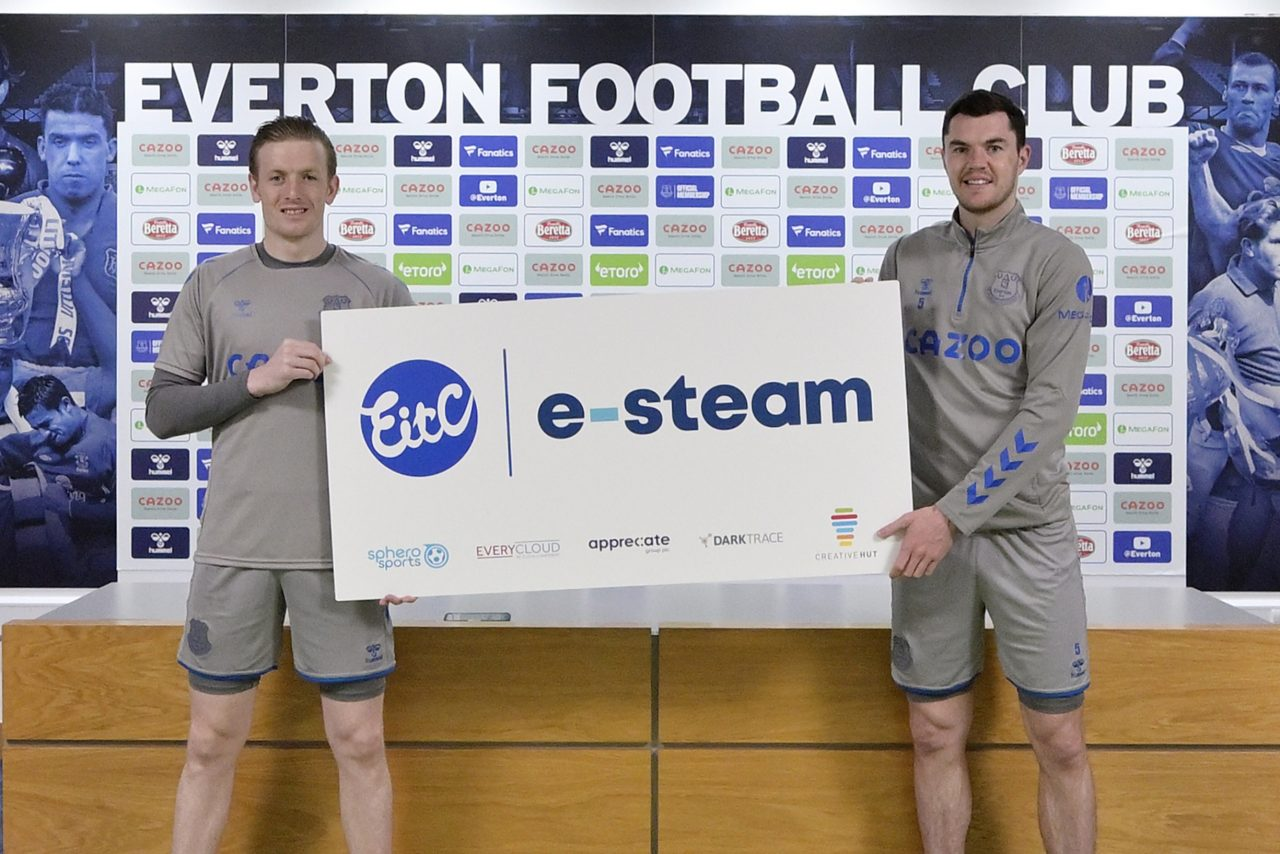 Everton FC's official charity launches football-themed technology initiative