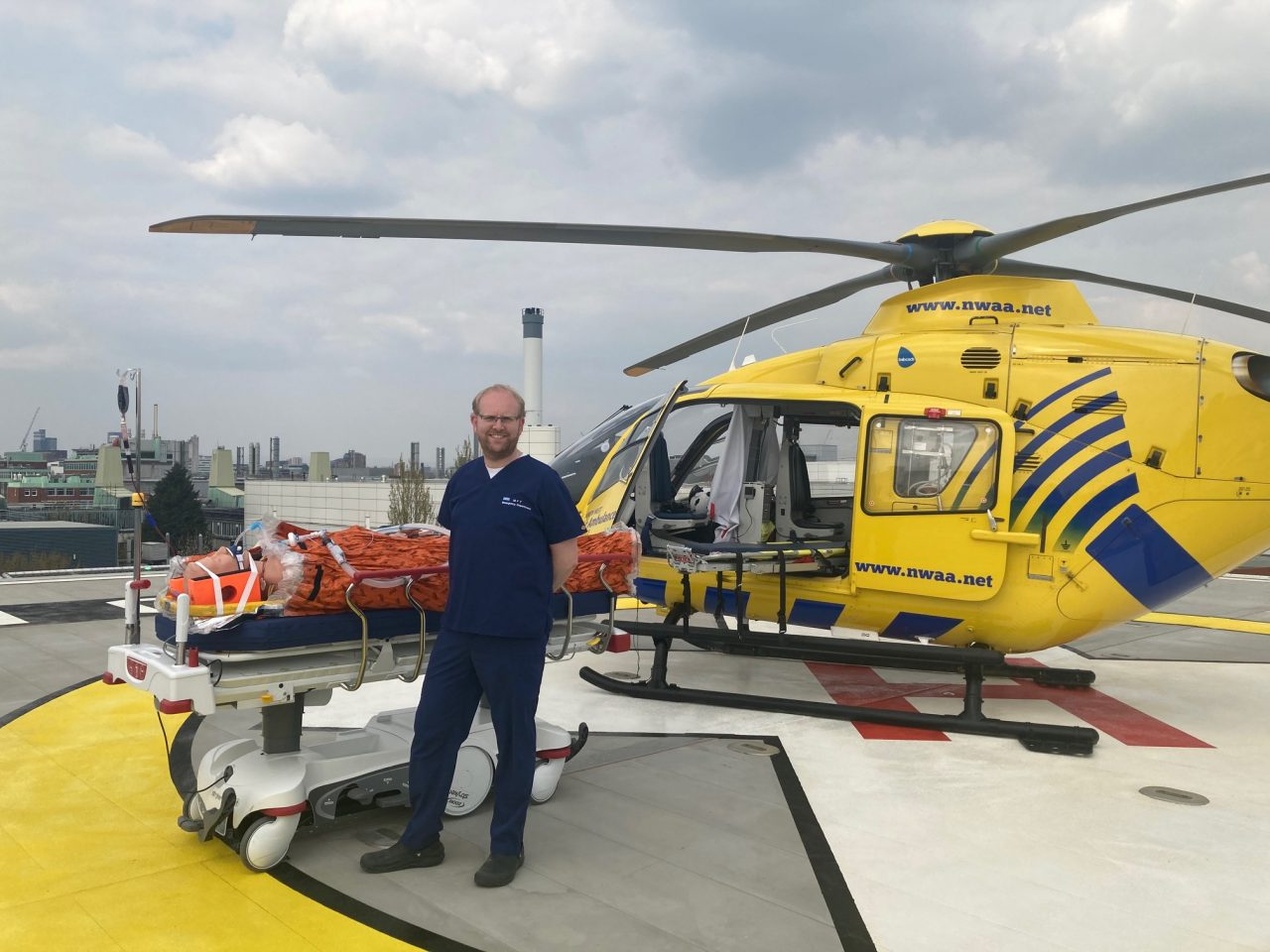 First elevated helipad of its kind in the North West opens