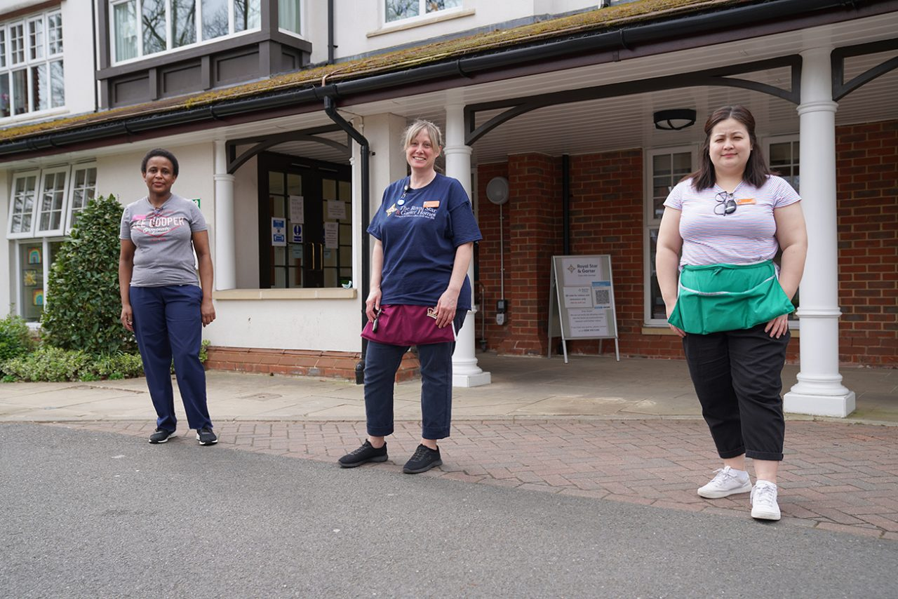 Charity staff celebrate milestone Nursing Associate qualifications