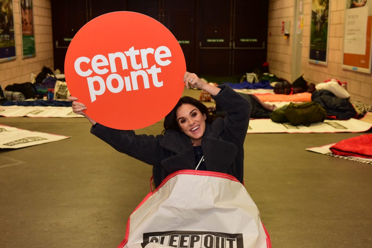 Vicky Pattison stays up all night for youth homelessness