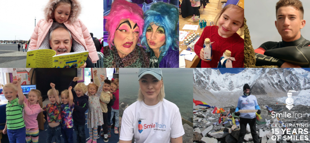 Smile Train UK: 15 fantastic fundraisers from the last 15 years