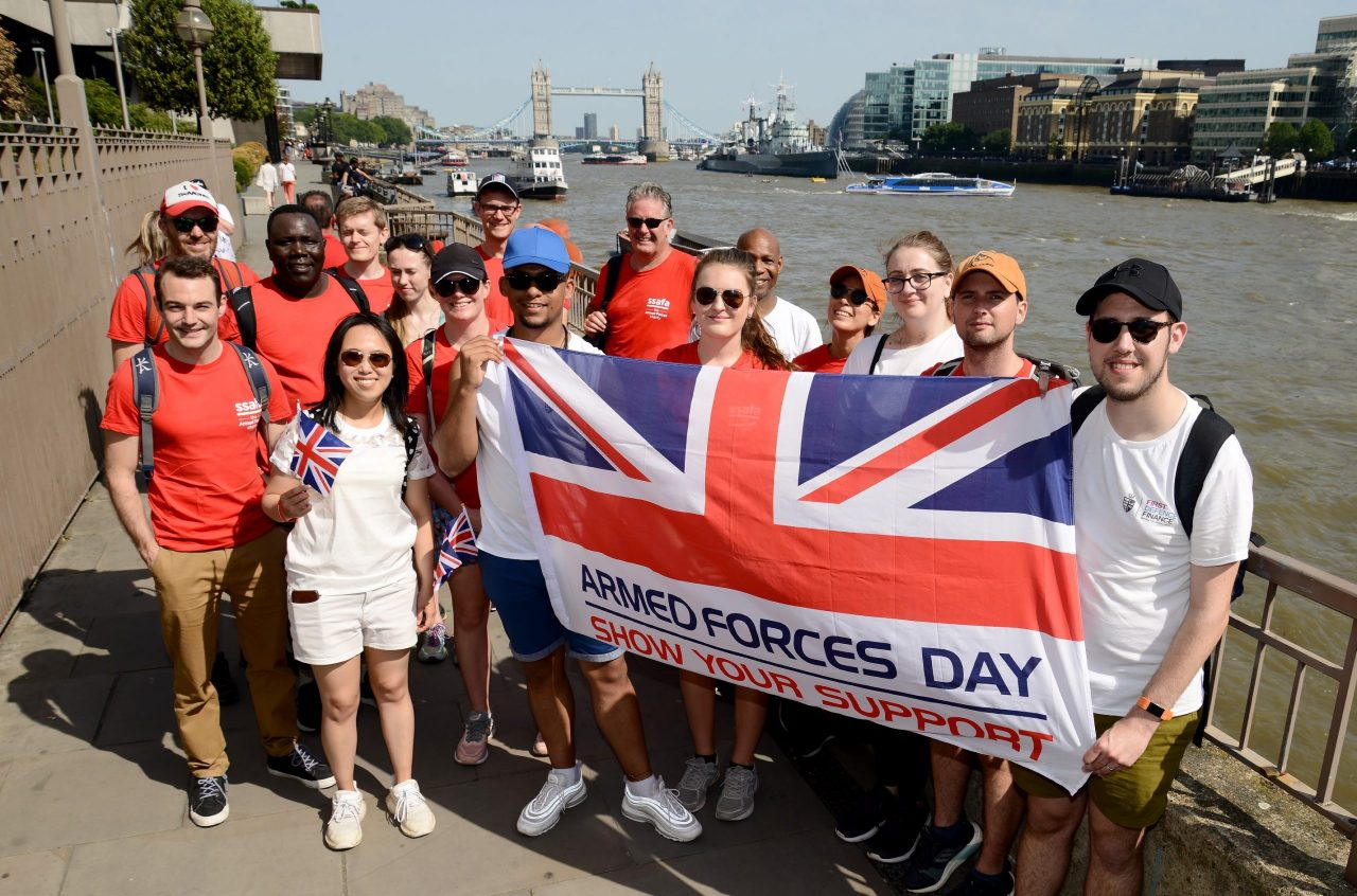 Opportunity to take on London's only Armed Forces Day event this June for SSAFA