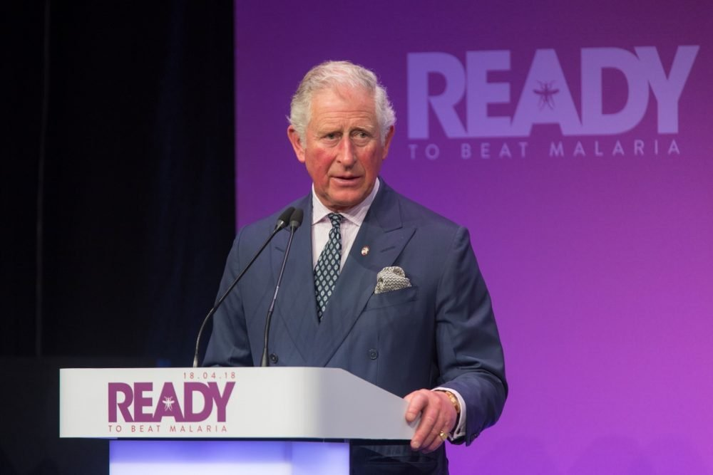 HRH The Prince of Wales named President of Malaria No More UK