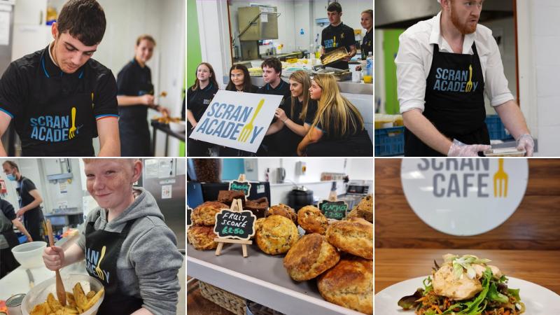 Scran Café - Youth powered café launched by Scran Academy