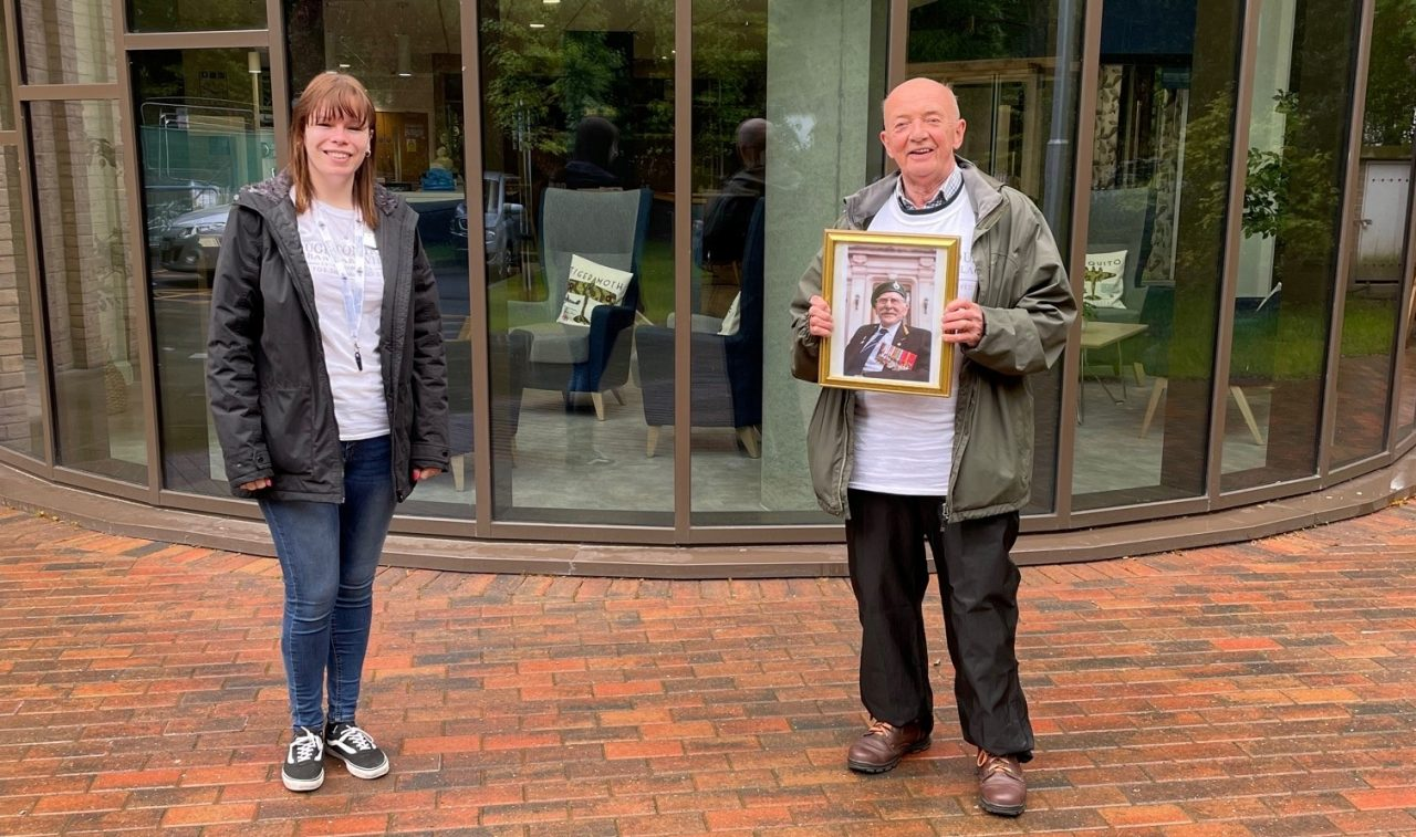War hero's son on fundraising mission in his father's memory