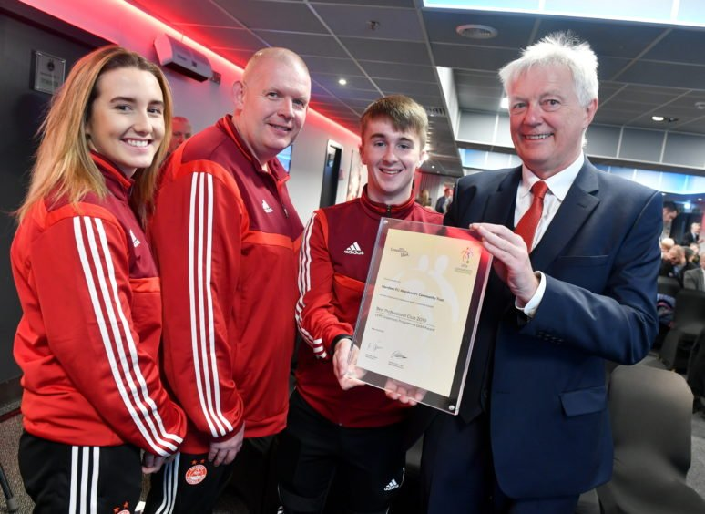 Aberdeen FC Community Trust launches Duncan Skinner legacy fund