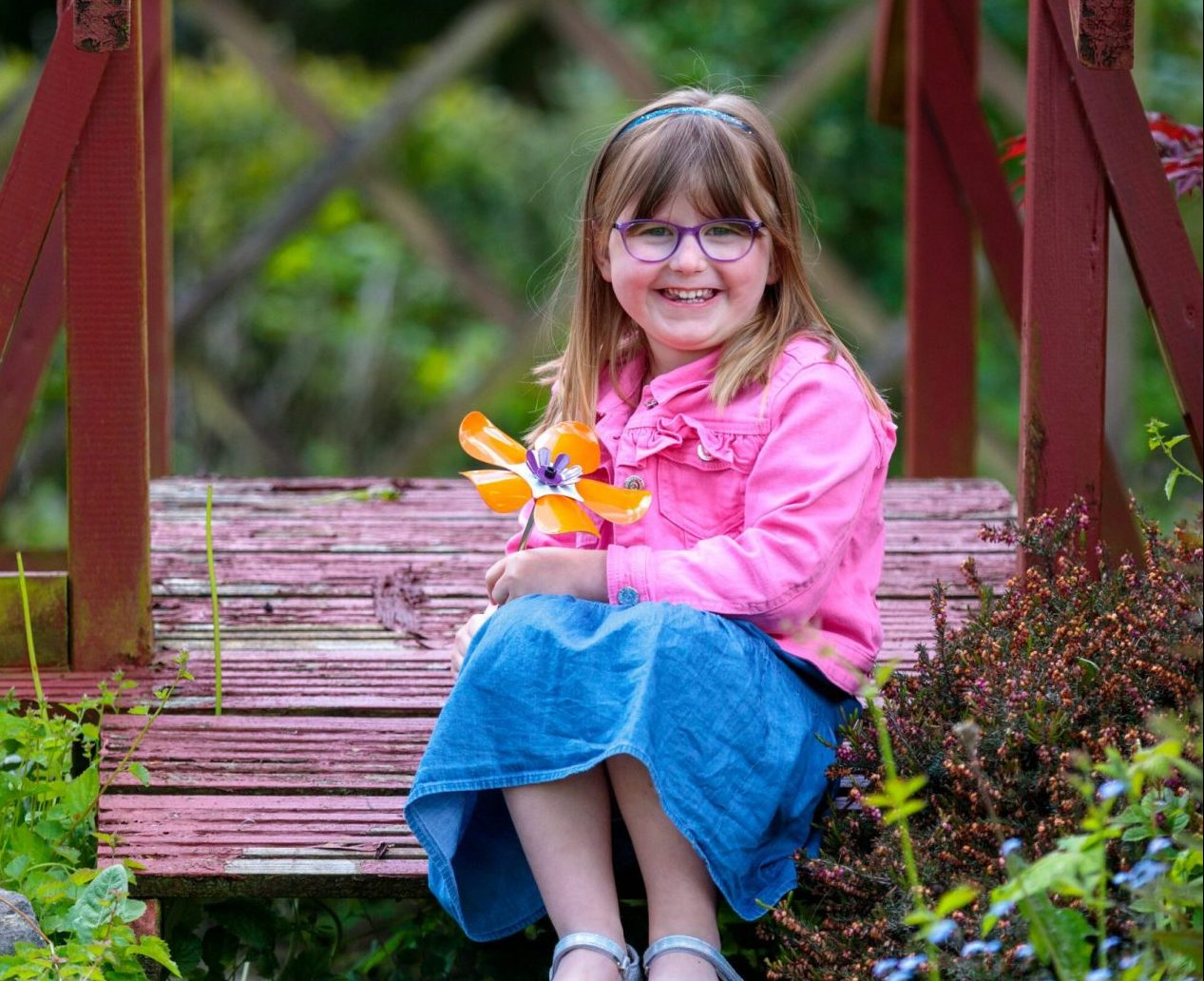 The Bullen family support City Hospice's Forever Flowers campaign