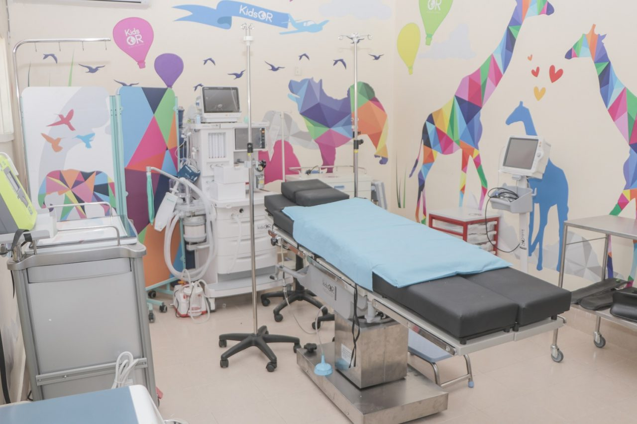 UK charity installs world's first children's operating room in a refugee camp