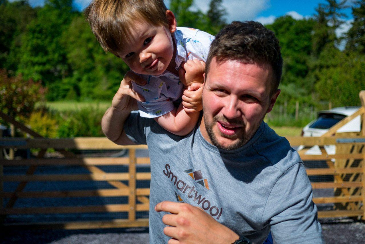 New dad credits research advances for giving him a future despite cancer diagnosis