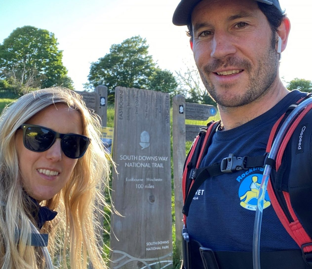 Josh's South Downs Way challenge raises £1,700 for children's charity