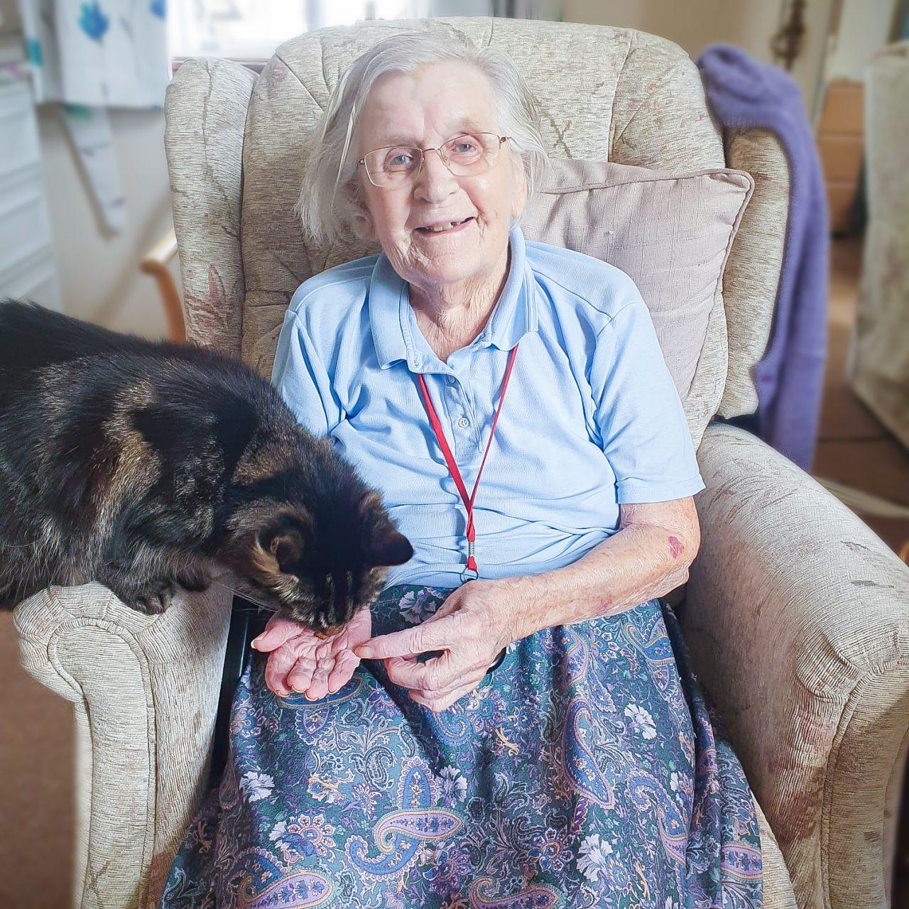 Malvern resident Muriel celebrates her 95th birthday