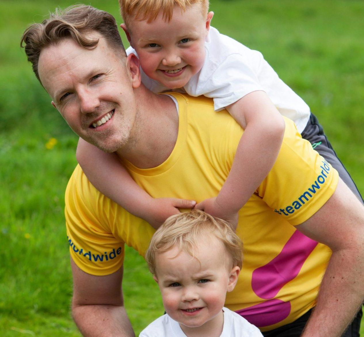 Edinburgh man limbers up for a marathon challenge after beating cancer
