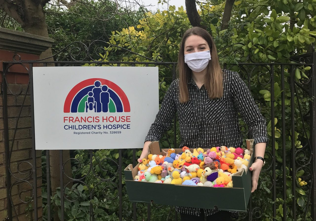 Hospice delight as Easter chick appeal 'egg-ceeds' expectations