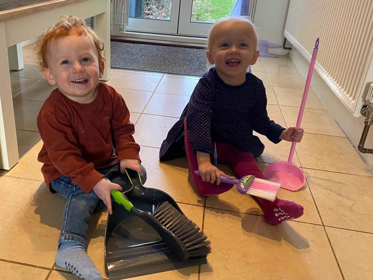 Three year old boy aims for great heights in memory of friend