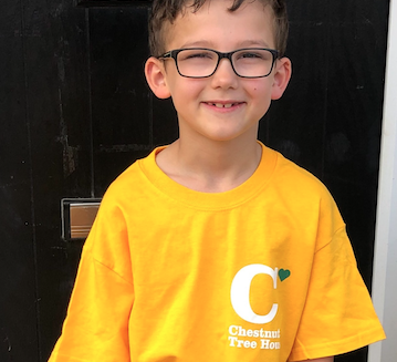 7-year-old's sponsored walk for children's hospice