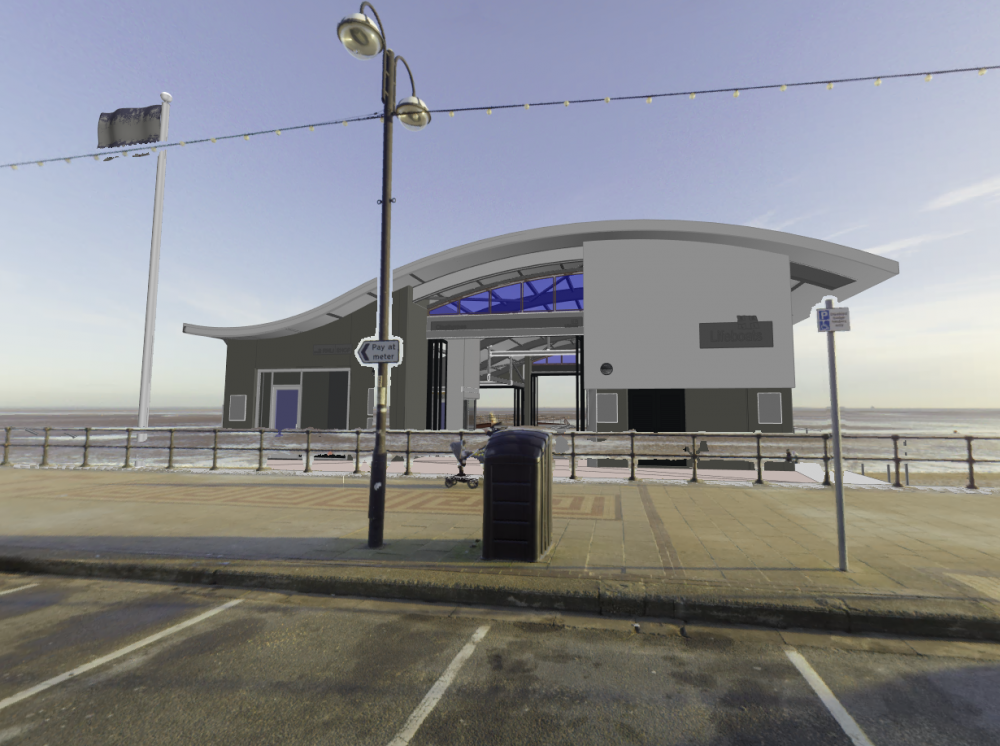 Artist's impressions released ahead of Cleethorpes Lifeboat Station build