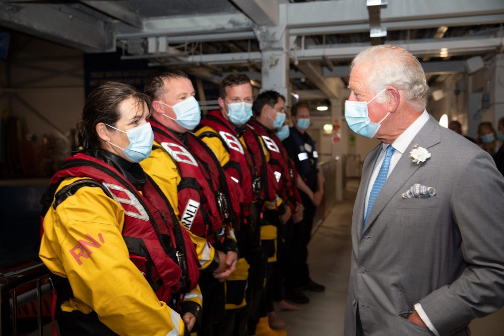 HRH The Prince of Wales visits the RNLI College