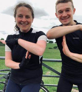 Three friends cycle 140 miles in coast-to-coast challenge for Tom's Trust