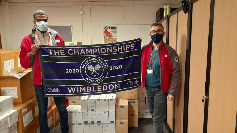 Wimbledon Foundation partners with British Red Cross to further COVID-19 response